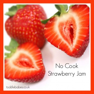 No Cook Strawberry Jam recipe, how to make strawberry jam