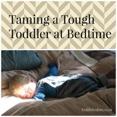 Taming a Tough Toddler at Bedtime