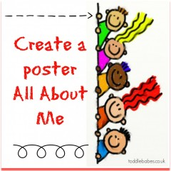 Create a poster All About Me