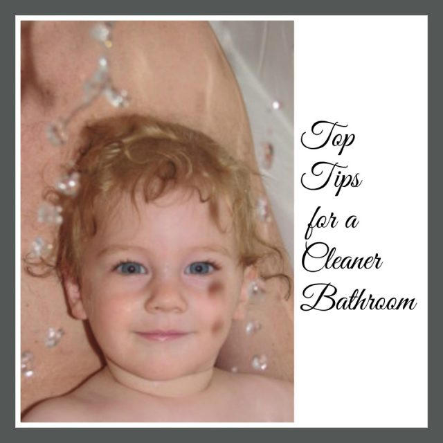 tips for a cleaner bathroom, cleaning tips, bathroom ideas