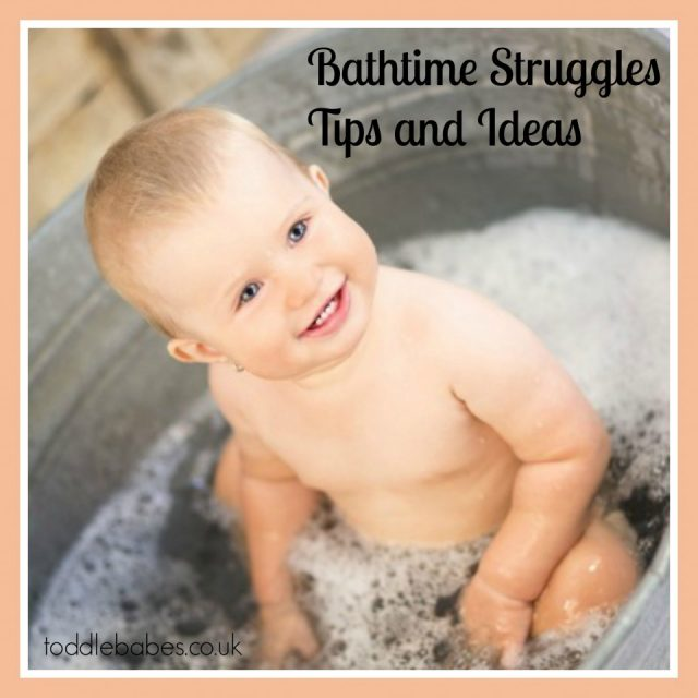Bathtime struggles; tips and ideas, how to get baby to bath, making bathtime fun, bath time
