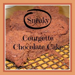 Sneaky Courgette Chocolate Cake