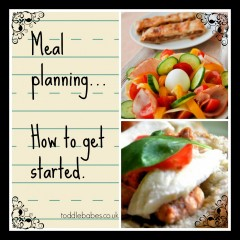 Meal planning , how to get started
