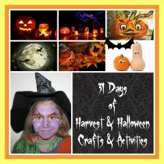 31 Days of Harvest & Halloween Crafts and Activities