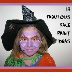 Fantastic Face Paint Gallery with recipes!