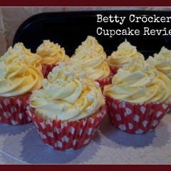 Betty Crocker Lemon cup cake mix review