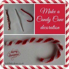 Super Simple Candy Cane Decorations to Make