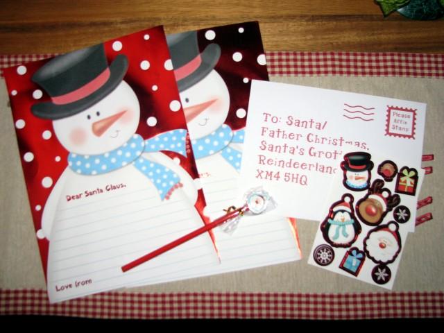 christmas list, letter to santa