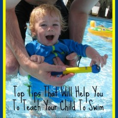 Top Tips That Will Help You To Teach Your Child To Swim