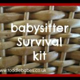 Babysitter Survival Kit