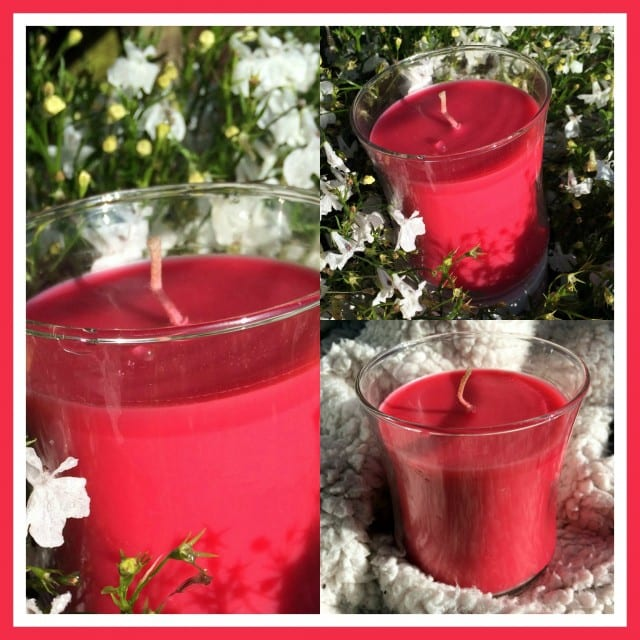 partylite, toddlebabes, candles, pink candle, fruity candle