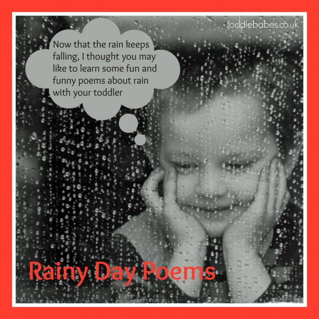 rain Poems, weather poems, poetry for children, rainy day poems