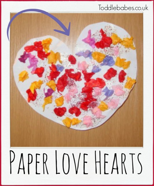 valentine's day crafts, heart crafts, I love you, love hearts
