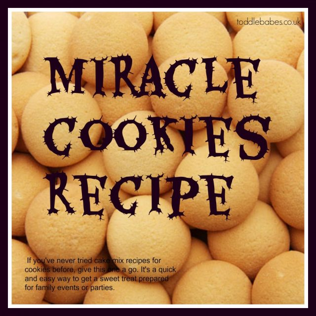 Miracle cookie recipe, cookie recipe, cake mix recipes, quick cookies