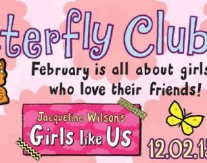 The Butterfly Club, www.toddlebabes.co.uk, Jacqueline Wilson