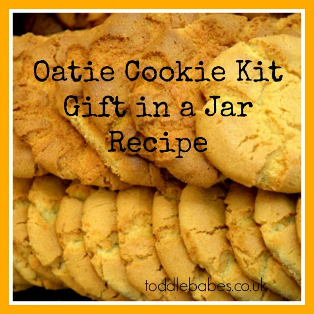 oatmeal cookie recipe, gift recipes, recipes for homeamde cookies, gift in a jar