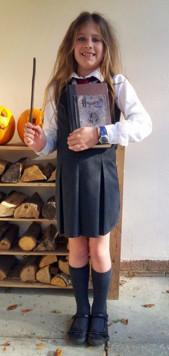 Hermione from Harry Potter, www.toddlebabes.co.uk, world book day, dress up